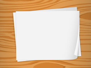 Empty sheets of bondpaper
