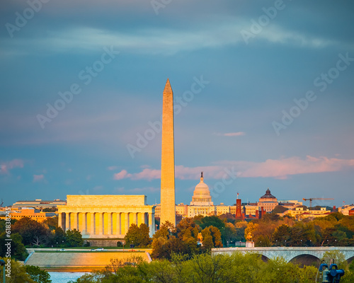 Foto op Canvas Monument Washington DC