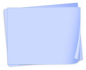Empty bondpaper template