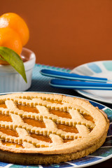 Fruit tart (crostata)