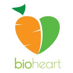 Bio heart logo