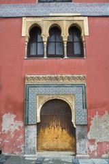 fachada de casa arabe en cordoba