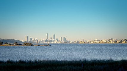 Skyline of Perth