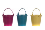 Buckets in color