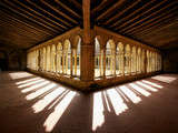 Cloister shadows France