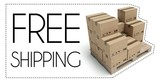 Free shipping of wooden pallet with cardboard boxes