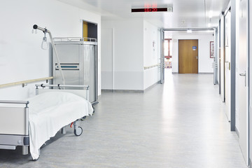 Flur Krankenhaus hell