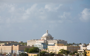 Domed Government Building in San Juan