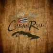 Cuban Rum Vintage Label