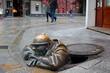 Der Glotzer, eines der Wahrzeichen von Bratislava - 61843297