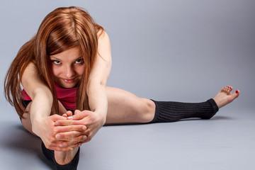 Stretching legs exercises