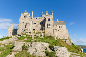 St Michaels Mount Marazion Cornwall England UK
