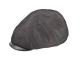 textile mens cap on white background