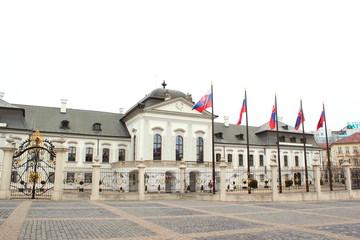 Präsidentensitz Palais Grassalkovich in der Slowakei