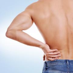 Schmerzen Rücken Mann
