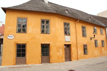 Der denkmalgeschützte Magdalenenhof in Baden bei Wien