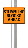 Stumbling Blocks Ahead