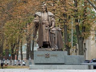 Monument of Pylyp Orlyk in Kiev, Ukraine