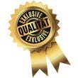 Exklusive Qualität - Button