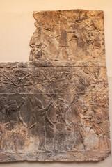 Archeologia - Mura incendiate della città assira di Ninive
