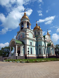 Church of Sergius of Radonezh. Nizhny Tagil. Russia