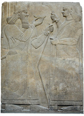 Archeologia - Mura incendiate dell'antica città assira di Ninive