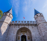 Gate of Salutation at Topkapi Palace