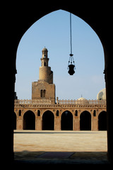Mosque of ibn tulun , Cairo , Egypt