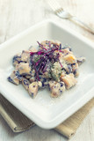 Gnocchi to the red cabbage