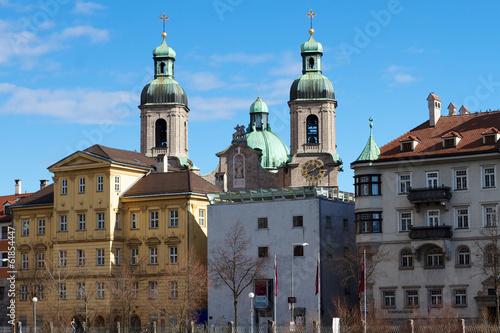 Innsbruck - Altstadt mit Dom
