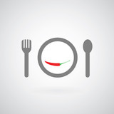 savory food symbol