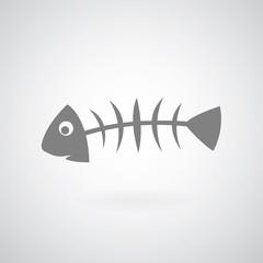 Fish bone symbol