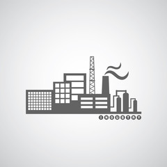 industrial factory icon