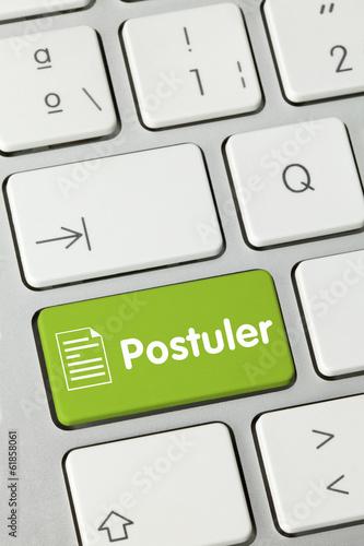 Postuler. Clavier