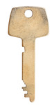 one brass flat key