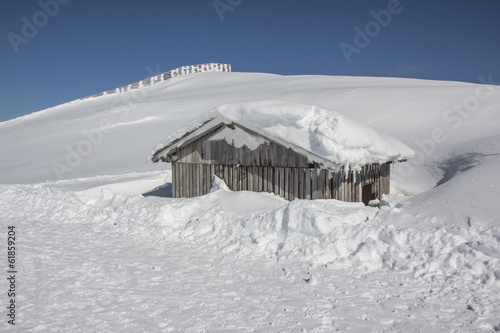 Little Snowy Mountain Hut
