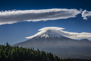 vulcano dell'Ecuador