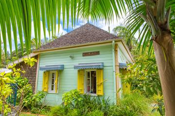Creole house, Tourist office Entre-Deux, La Réunion