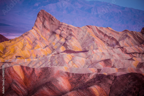 Sunrise  Zabriskie Point, Death Valley California