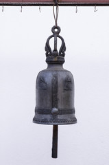 old bell at thai temple
