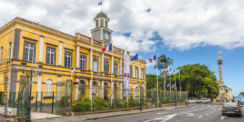 Townhall of Saint-Denis, La Réunion