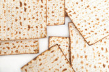 Matza bread for passover celebration