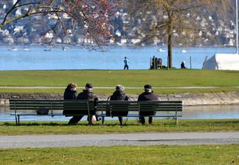 lac de zürich,,,un havre de paix