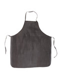 Close up of aprons black.