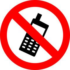 Zakaz używania telefonu