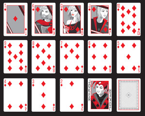 diamond cards