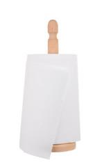 Kitchen paper towels on holder