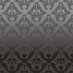 Dark Shiny Damask Background