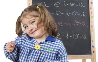 Estudiante infantil