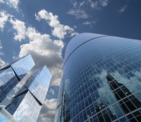 Skyscrapers of the International Business Center, Moscow